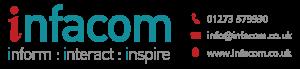 Infacom Logo + contact details smaller